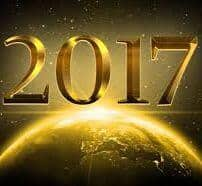image of a golden globe with the year 2017 hovering above suggesting the economic and markets outlook 2017
