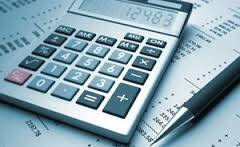 calculator over superannuation financial statements to determine pension amount