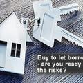 gearing wealth creation message on image of key-ring with house and keys attached asking if ready for the risks