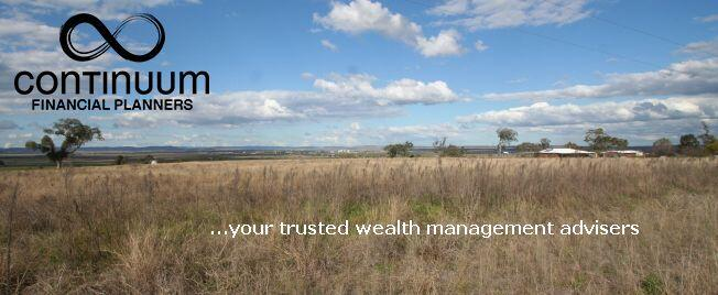 wealth management matters eNews masthead showing Darling Downs landscape and ContinuumFP loga and banner